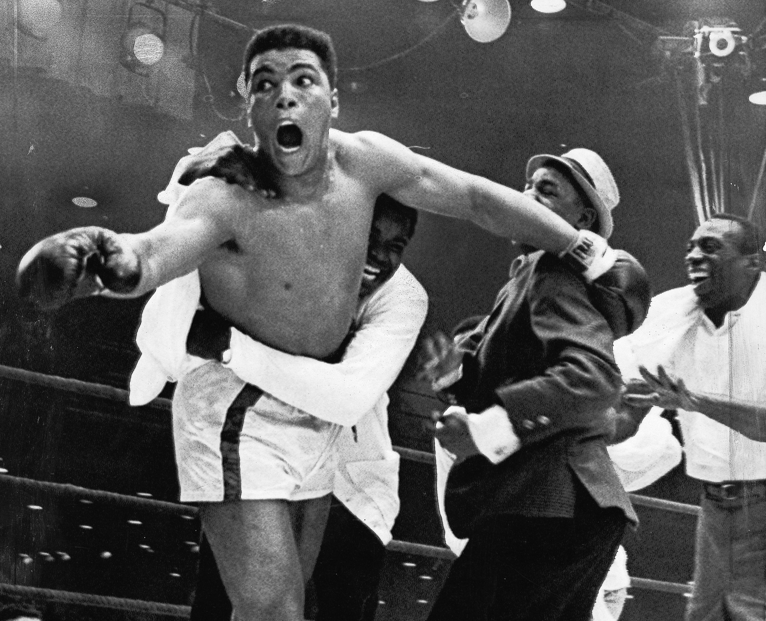 Ali Shook Up The World