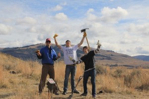 Lamar Valley trail restoration