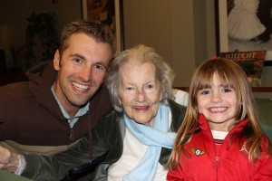2011 visit with Grandma Isabel.